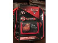 Disney cars lunch bag,wallet and watch set.