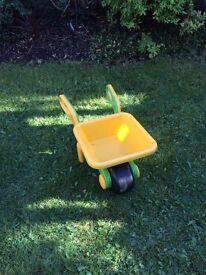 Childrens Toy wheelbarrow