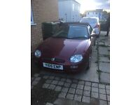 MGF, very clean good condition and very good runner. See pictures.