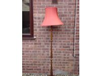 1950's Standard Lamp and Shade