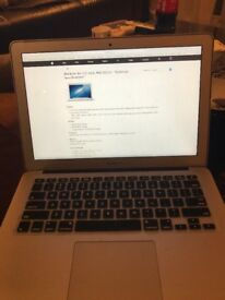 MacBook Air. (13 inch ). 4-5 years old. Absolutely perfect condition