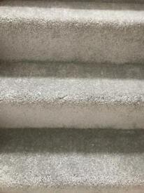 Brand new Munro 301 carpet in pale grey