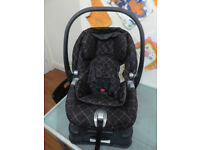 Mamas & Papas Primo Viaggio IP car seat complete with adjustable Surefix base.