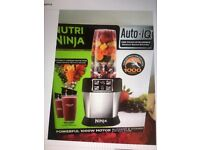 Nutri Ninja extractor and Blender Brand New