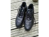 Adidas mens black golf shoes size 8.5