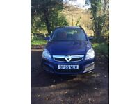VAUXHALL ZAFIRA NEW SHAPE 1.6