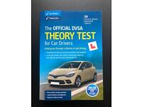 Theory test book for car learners