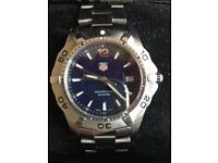 Tag heuer aquaracer watch.