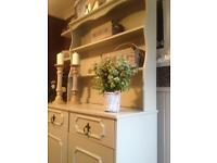 Lovely chic Style French Gray kitchen dining dresser F&B
