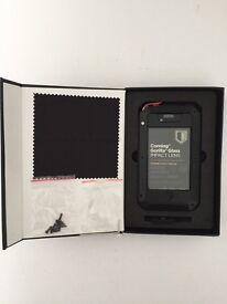 Corning Gorilla Glass Impact Lens Case, Black, for iPhone 4