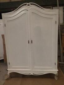 Large French style wardrobes only a few left sale