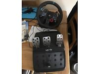 LOGITECH G29 force steering wheels and pedals