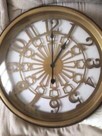 Next premium metal clock