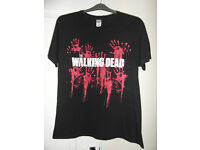 The Walking Dead Bloody Hands T Shirt Size L