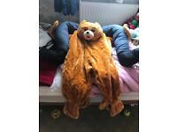 Carry me teddy bear fancy dress