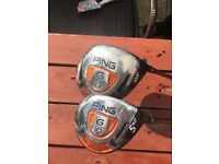 Ping golf clubs drivers