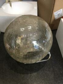 Brand new mink crackle dome lamp from next