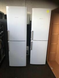 Tall Hot Point Fridge Freezer (6 months warranty)