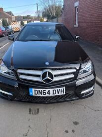 Mercedes Benz C Class Low Mileage with Panoramic Sunroof and Service History