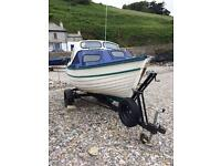 17ft fishing boat day boat