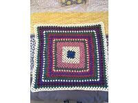 Handmade Small Knitted Blanket