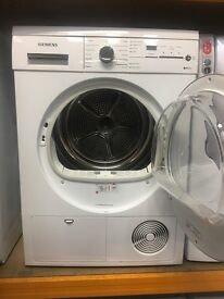 SIEMENS WT46E381GB 7KG, B RATED, CONDESER DRYER