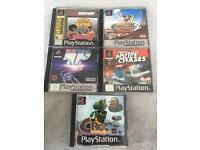 Sony PS1 PlayStation 1 Games Bundle x5