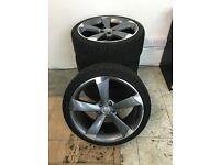 """Audi alloy wheels 19"""""""