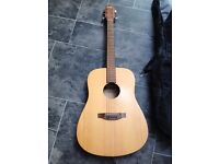 Lorenzo Acoustic Guitar + Bag - Good Coniditon, Plymouth Local Pick-up Only