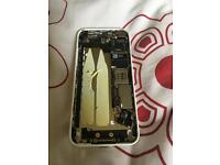 iPhone 5C White chassis & motherboard
