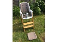 High chair-from baby to 5 years old!