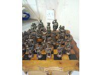 greek army chess set