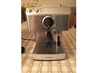 Barista coffee machine