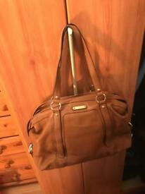 MICHAEL KORS REAL LEATHER BAG - USED ONCE -RRP £300– NO OFFERS PLEASE