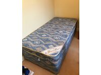 2 in 1 single bed with mattress