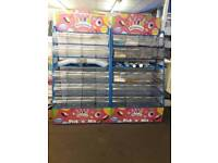 Pick & mix sweet stands