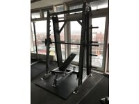 LIFE FITNESS COUNTER BALANCED SMITH MACHINE FORSALE!!
