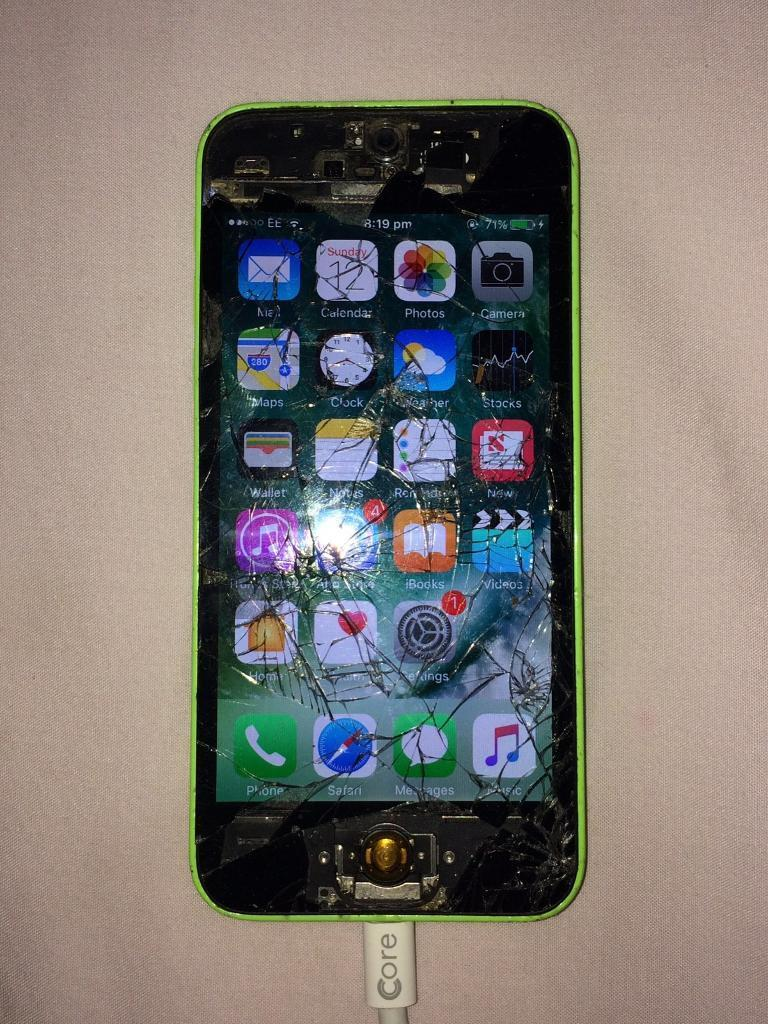 iPhone 5c 16gb on EE