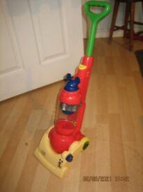 Disney childs toy vacuum cleaner