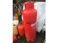 Empty 47kg gas bottle