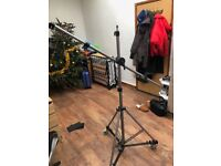 Sontronics MATRIX - 10 High End Professional Studio Quality Mobile Microphone Stand with Accessories