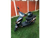 65 plate 50cc Moped