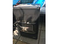 Gas heater Good condition hardly used