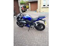 Yamaha yzf r125 very low milage and amazing condition