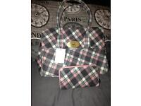 Matching bag and purse