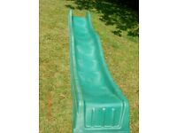 Outdoor slide suitable for garden play area