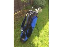 Callaway bag and full set of matching irons