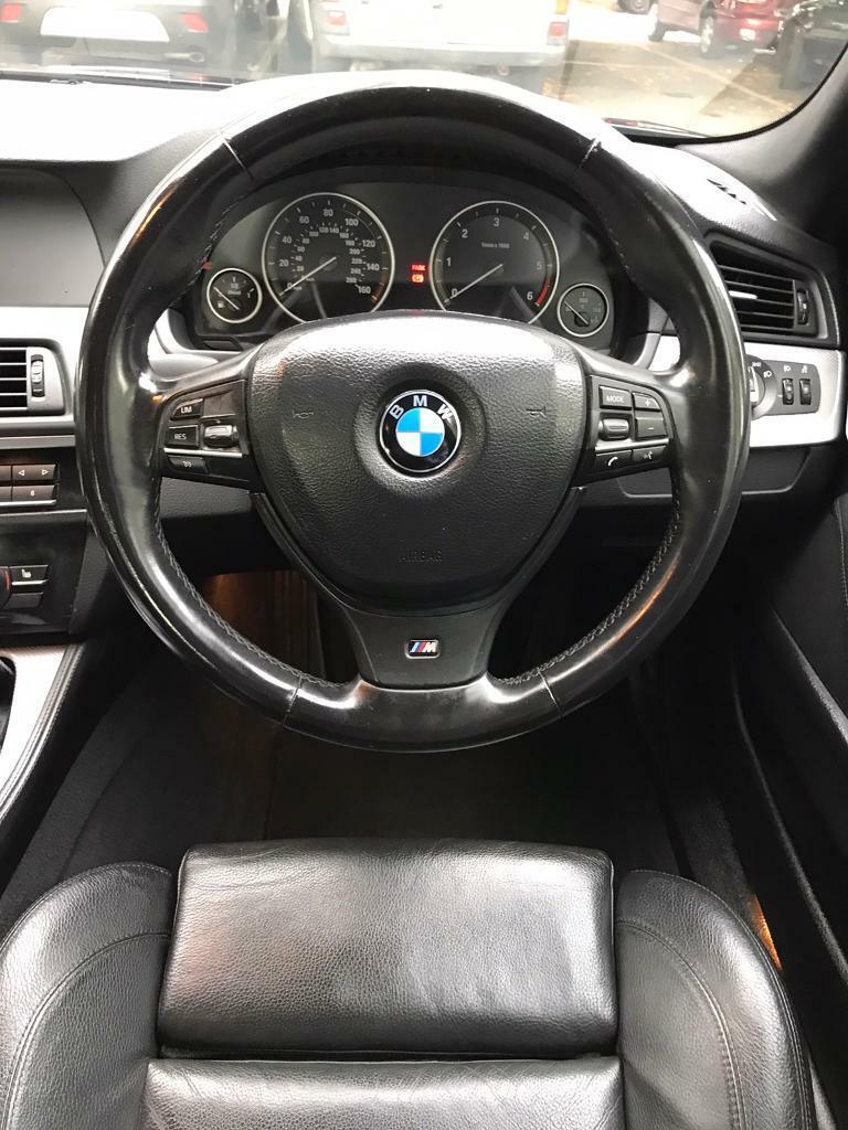 BMW 5 Series, M sport, Blue Performance