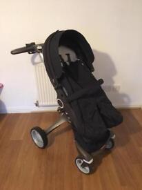 Stokke xplory v4 black from newborn carrycot pram buggy accessories latest model