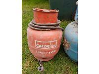 3.9kg Calor Gas Bottle with Torch Attachment